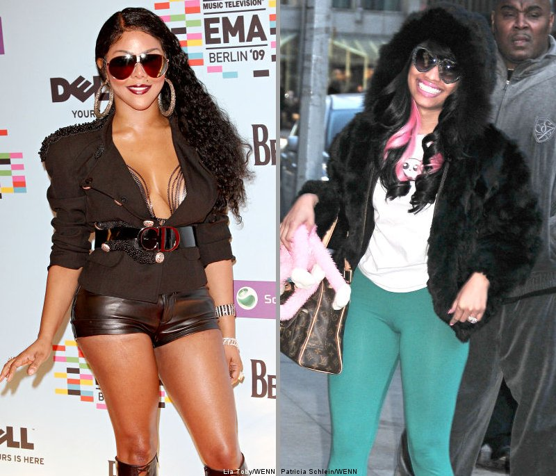 Lil Kim And Nicki Minaj Together Lil' Kim and Nicki M...