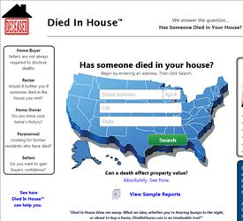 Who Died In Your House?